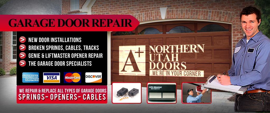 Ordinaire Utah Garage Door Repair U0026 Install | A+ Northern Utah Doors